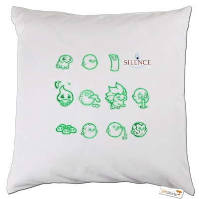 Motiv: Kissen - Silence - Icons