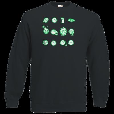 Motiv: Sweatshirt Classic - Silence - Icons 2