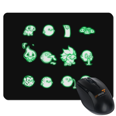 Motiv: Mousepad Textil - Silence - Icons 2