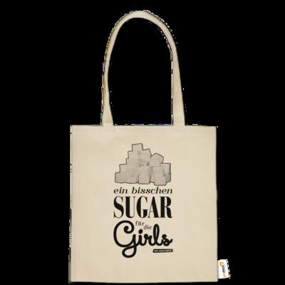 Motiv: Baumwolltasche - Sugar für die Girls