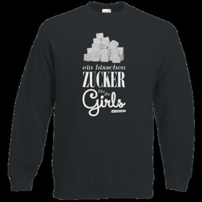 Motiv: Sweatshirt Classic - Zucker für die Girls