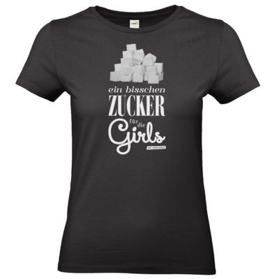 Motiv: T-Shirt Damen Premium FAIR WEAR - Zucker für die Girls
