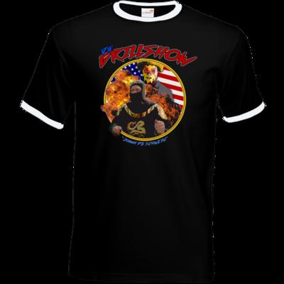 Motiv: T-Shirt Ringer - Die Grillshow - Motiv 3