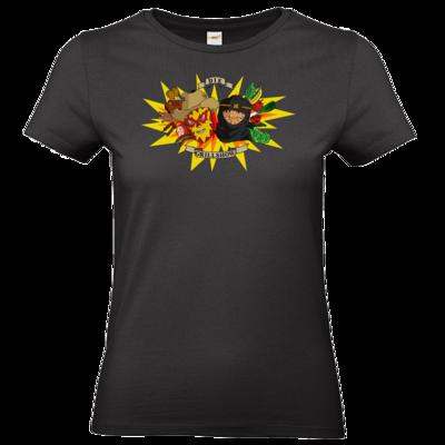 Motiv: T-Shirt Damen Premium FAIR WEAR - Die Grillshow - Motiv 1