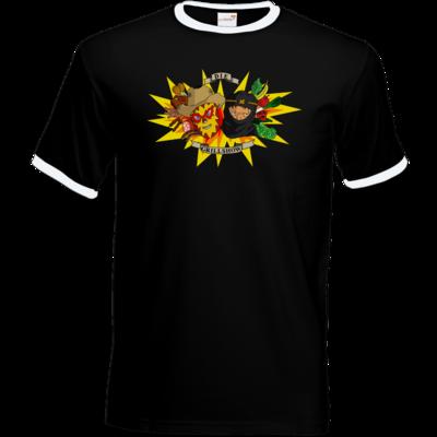 Motiv: T-Shirt Ringer - Die Grillshow - Motiv 1
