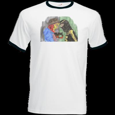Motiv: T-Shirt Ringer - Die Grillshow - VS