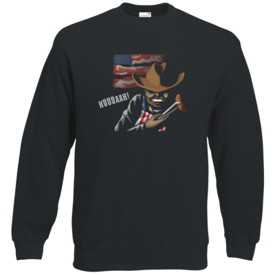 Motiv: Sweatshirt Classic - Die Grillshow - Hüüüaah