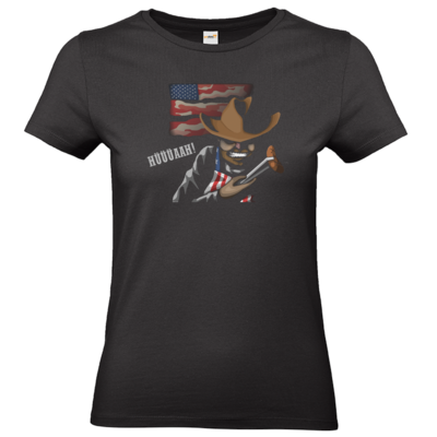 Motiv: T-Shirt Damen Premium FAIR WEAR - Die Grillshow - Hüüüaah