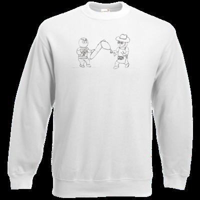 Motiv: Sweatshirt Classic - Die Grillshow - Fight!
