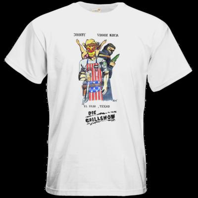 Motiv: T-Shirt Premium FAIR WEAR - Die Grillshow - Filmplakat