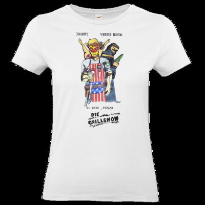 Motiv: T-Shirt Damen Premium FAIR WEAR - Die Grillshow - Filmplakat