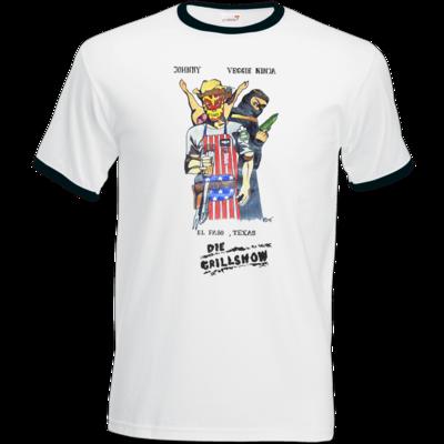 Motiv: T-Shirt Ringer - Die Grillshow - Filmplakat
