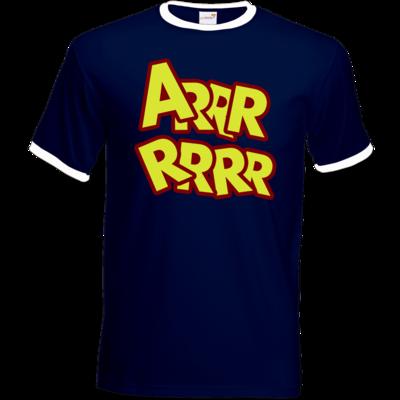 Motiv: T-Shirt Ringer - ARRRRRRR
