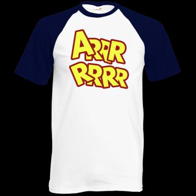 Motiv: TShirt Baseball - ARRRRRRR