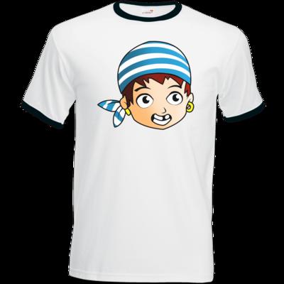 Motiv: T-Shirt Ringer - Matrose