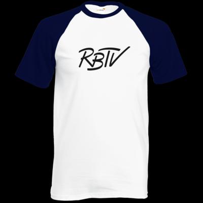 Motiv: Baseball-T FAIR WEAR - RBTV - Oldschool Logo
