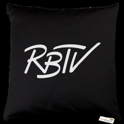 Motiv: Kissen Baumwolle - RBTV - Oldschool Logo