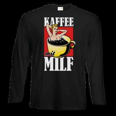 Motiv: Exact 190 Longsleeve FAIR WEAR - Kaffee mit MILF