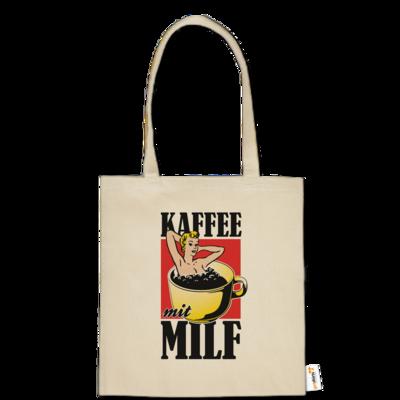 Motiv: Baumwolltasche - Kaffee mit MILF