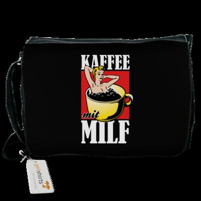 Motiv: Schultertasche - Kaffee mit MILF