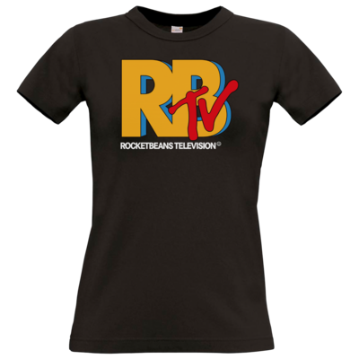 Motiv: T-Shirt Damen Premium FAIR WEAR - MTV Style Logo