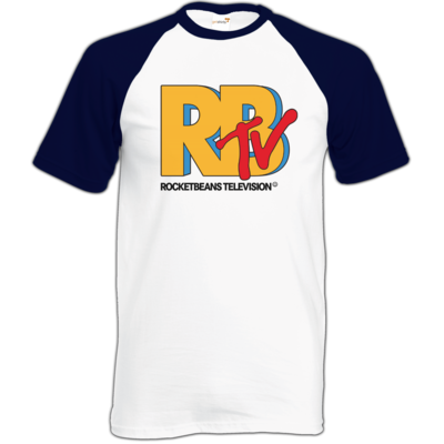 Motiv: Baseball-T FAIR WEAR - MTV Style Logo