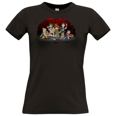 Motiv: T-Shirt Damen Premium FAIR WEAR - Tears - Pen and Paper 2