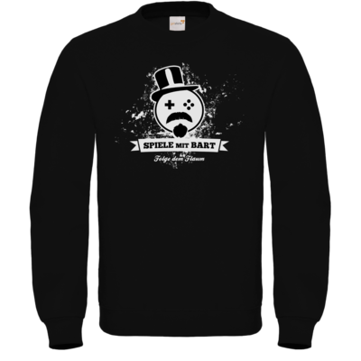Motiv: Sweatshirt FAIR WEAR - Spiele mit Bart