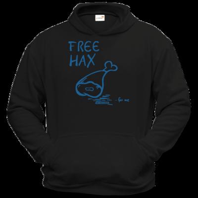 Motiv: Hoodie Classic - Free Hax blau
