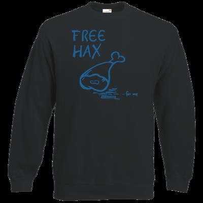Motiv: Sweatshirt Classic - Free Hax blau
