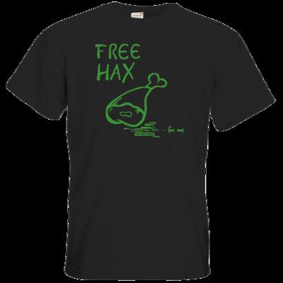 Motiv: T-Shirt Premium FAIR WEAR - Free Hax gruen