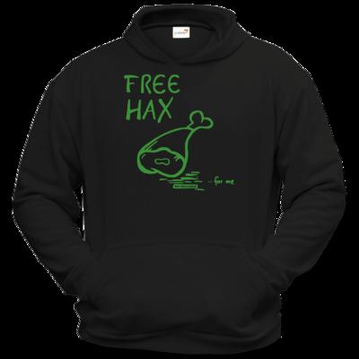 Motiv: Hoodie Classic - Free Hax gruen