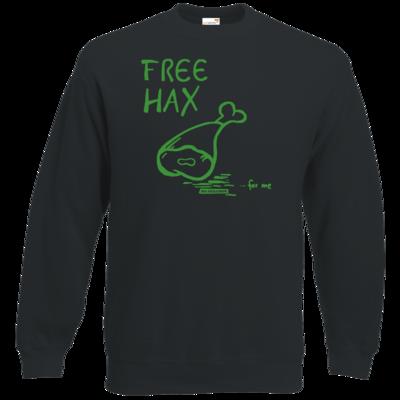 Motiv: Sweatshirt Classic - Free Hax gruen