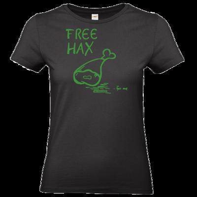 Motiv: T-Shirt Damen Premium FAIR WEAR - Free Hax gruen