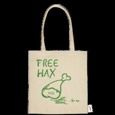 Motiv: Baumwolltasche - Free Hax gruen