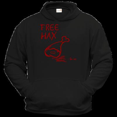 Motiv: Hoodie Classic - Free Hax rot