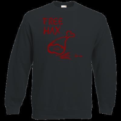 Motiv: Sweatshirt Classic - Free Hax rot