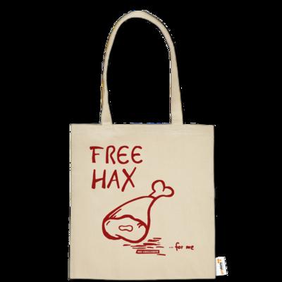 Motiv: Baumwolltasche - Free Hax rot