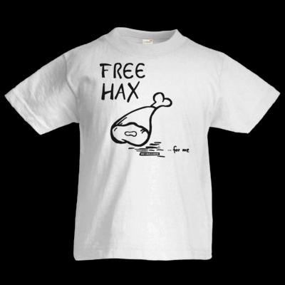 Motiv: Kids T-Shirt Premium FAIR WEAR - Free Hax schwarz
