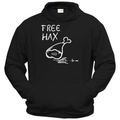 Motiv: Hoodie Classic - Free Hax weiss