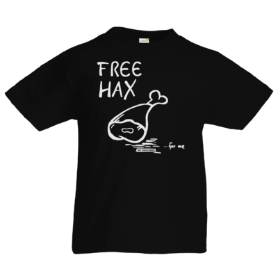 Motiv: Kids T-Shirt Premium FAIR WEAR - Free Hax weiss