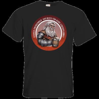 Motiv: T-Shirt Premium FAIR WEAR - Sprüche - Zwergenbier