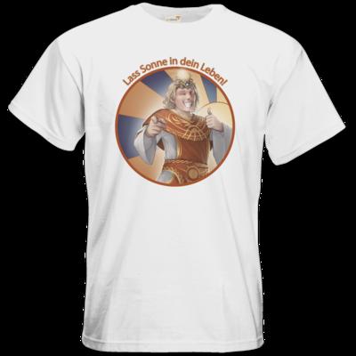 Motiv: T-Shirt Premium FAIR WEAR - Sprüche - Götter - Praios - Lass Sonne in...