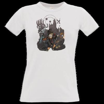 Motiv: T-Shirt Damen Premium FAIR WEAR - HookedRobin