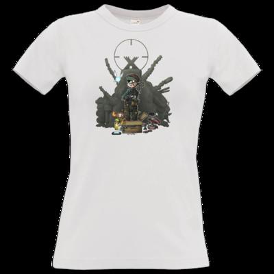 Motiv: T-Shirt Damen Premium FAIR WEAR - HookedMats