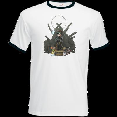 Motiv: T-Shirt Ringer - HookedMats