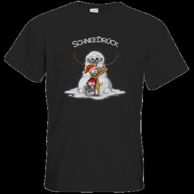 Motiv: T-Shirt Premium FAIR WEAR - Schneedrueck