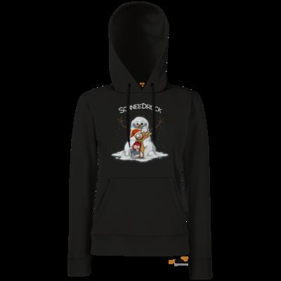 Motiv: Hoodie Damen Classic - Schneedrueck
