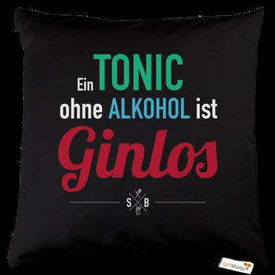 Motiv: Kissen Baumwolle - SizzleBrothers - Grillen - Gin - ginlos 2