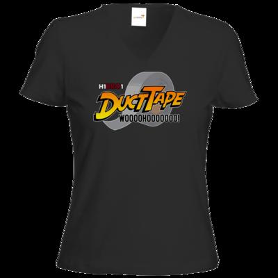 Motiv: T-Shirt Damen V-Neck Classic - DuctTape
